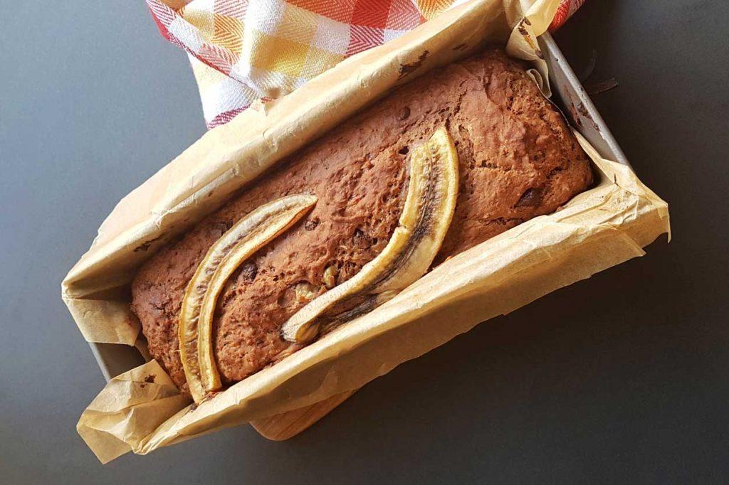 Hleb od banana i bundeve 1